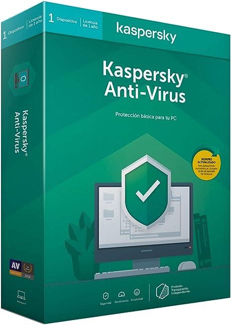 Kaspersky Kav 2020 - Antivirus, 1 Licencia, 1 Año: Amazon.es: Informática