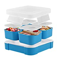 Deals on Fun Life Bento Lunch Box with 5 Compartment