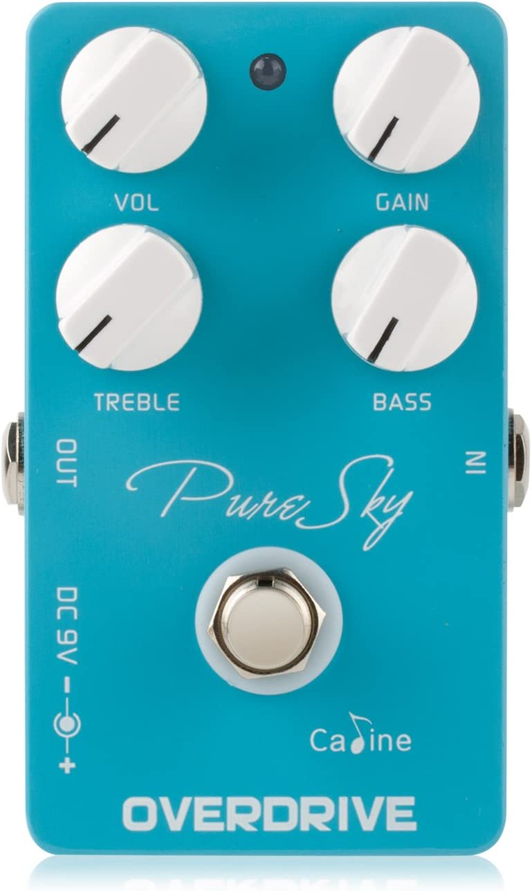 Caline CP-12 Pure Sky Guitar Pedal Effect Highly Pure and Clean Overdrive Guuitar Fx (CP-12)