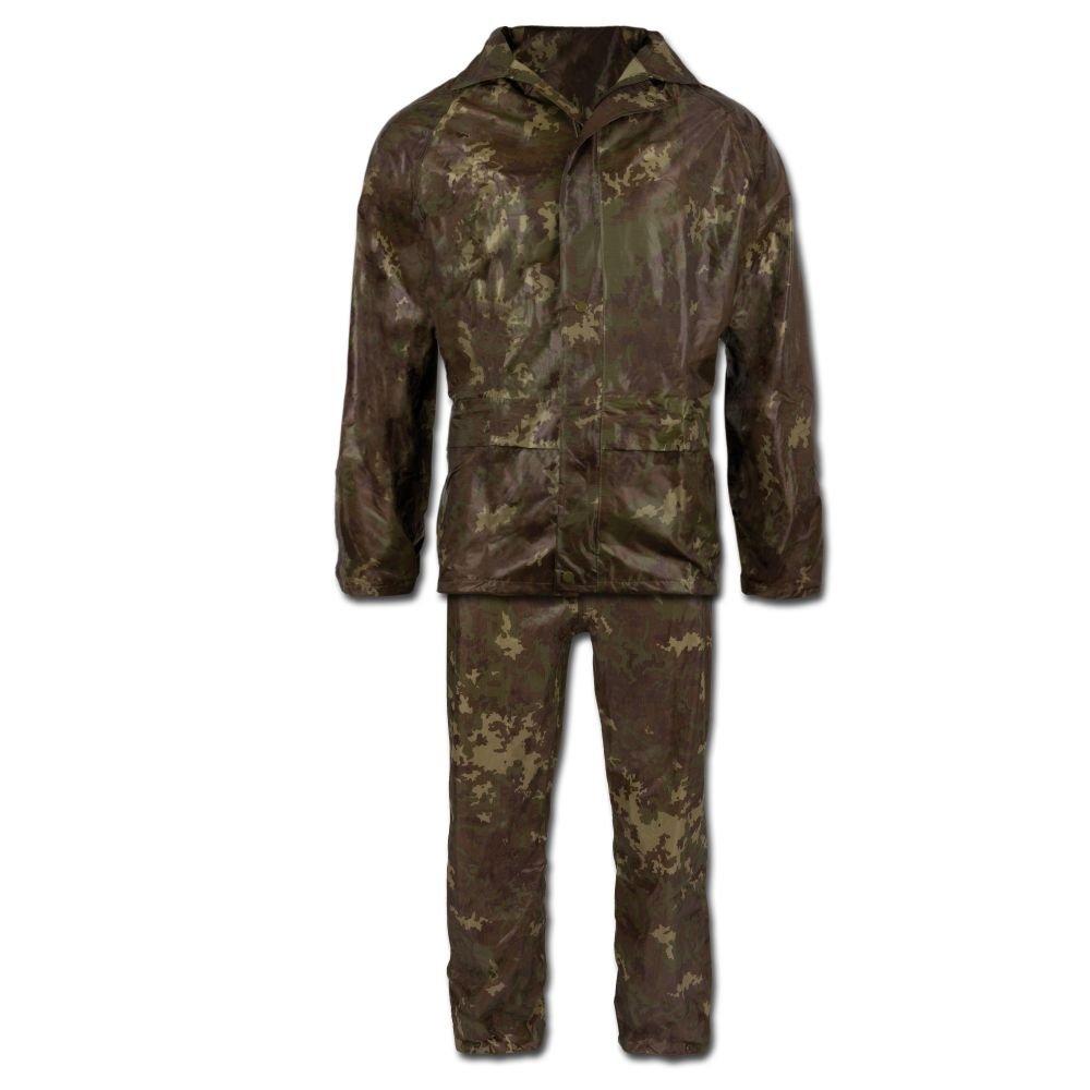 Miltec Tenue de pluie composée d'une veste et d'un pantalon Mil-Tec 2258