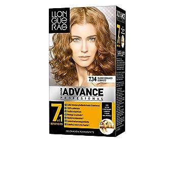 COLOR ADVANCE #7,34-rubio dorado cobrizo: Amazon.es