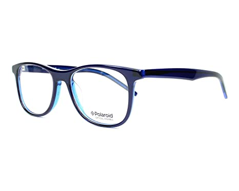 Polaroid - Monture de lunettes - Femme bleu bleu Small  Amazon.fr ... 96dd8d29bd23