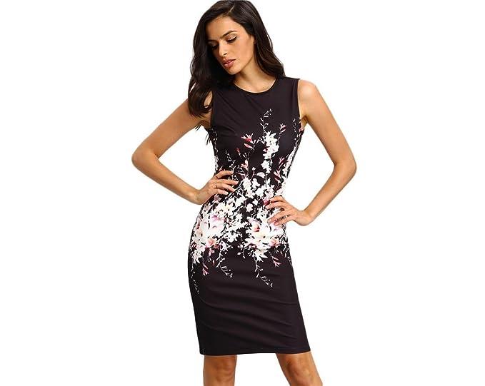 Vestidos Ropa De Moda para Mujer De Fiesta y Noche Elegante Casuales (S)