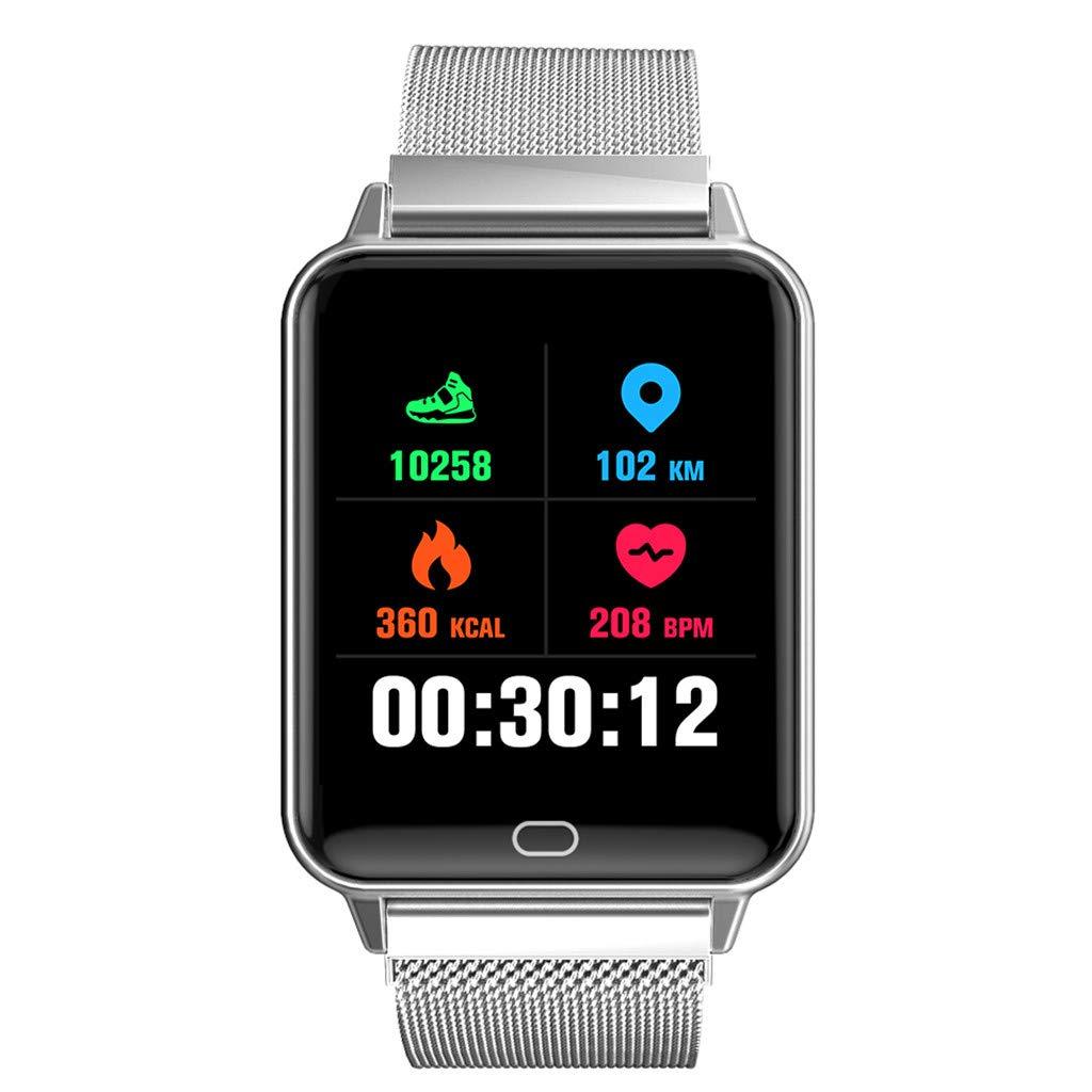Smart Watch Touch Screen- NDGDA Sport Smart Wrist Watch Bluetooth Smartwatch Fitness Tracker Pedometer Compatible Android iOS Kids Women Men