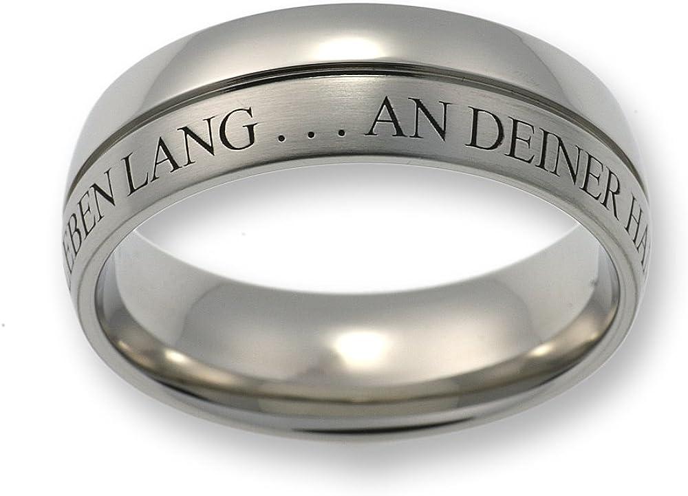 Original Enez Ring Trauring Ehering Edelstahlring B 10mm R2792 Geschenkbeute