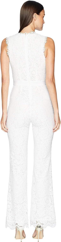 43dcfbe6278 Amazon.com  Rachel Zoe Women s Irys Jumpsuit Optic White 12  Clothing