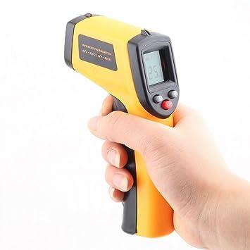 Ghost Caza Digital de Infrarrojos con puntero láser termómetro Pistola Paranormal Equipo: Amazon.es: Electrónica