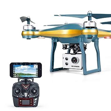 KAIFH Drone Cámara HD De 720P Cámara Móvil Plegable con Drones ...