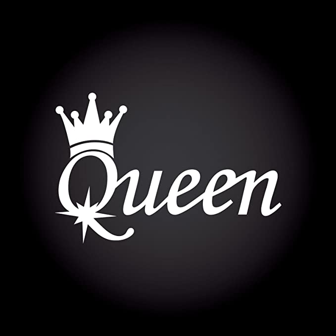 Queen Car Sticker Die Cut Oem Tuning Decal 13 5 X 9 0 Cm 30 Colour Selection Auto