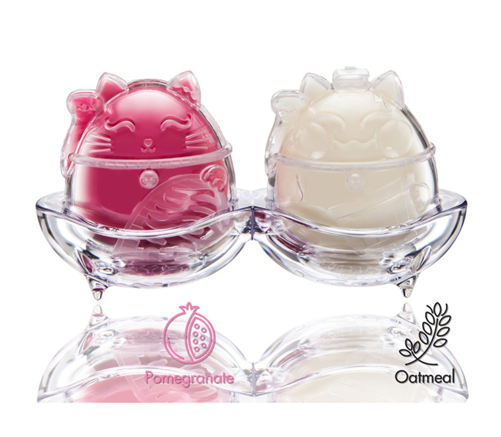 Kitty Ice-Cream Bubble Cleanser (1Set Pomegranate) ECONEKO