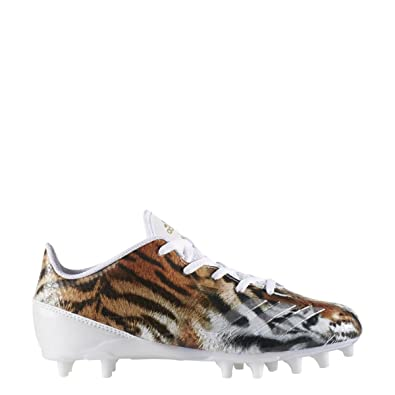 adidas Adizero 5Star 6.0 Cleat Kid s Football 1.5 Tiger-White-Metallic Gold 252ce5552