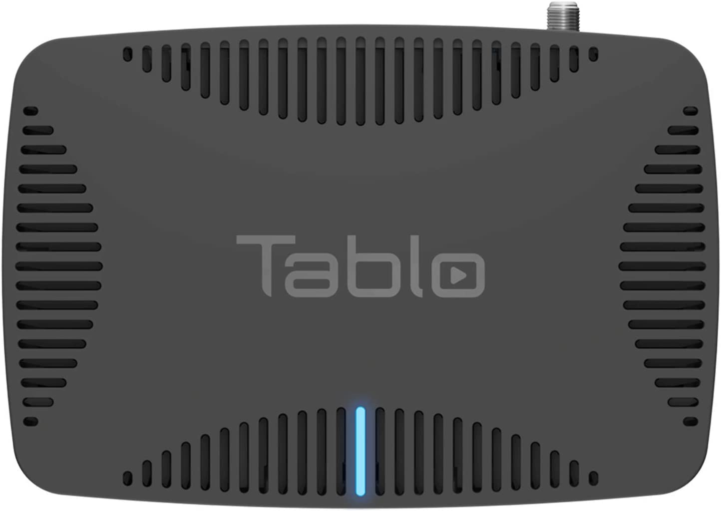 Tablo TQNS4B-01-CN Quad Over-The-air [OTA] Digital Video Recorder [DVR] for Cord Cutters - with WiFi, Live TV Streaming, & Automatic Commercial Skip, Black