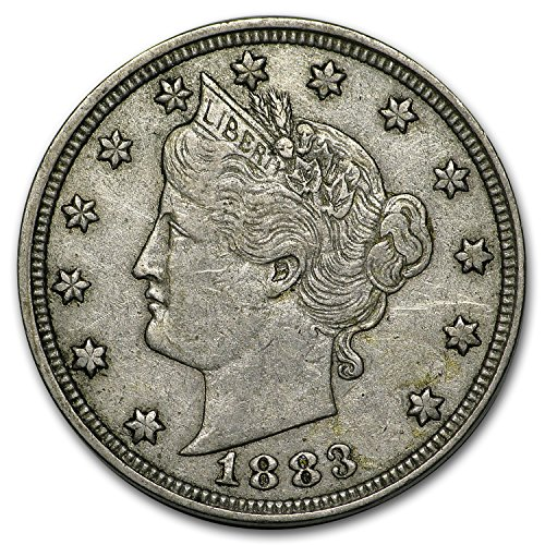 1883 Liberty Head V Nickel No Cents XF Nickel Extremely Fine
