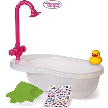 con docciabiancotelo X vasca Bambola da da bagnostickersetanatra40 bagno nOkwXP80