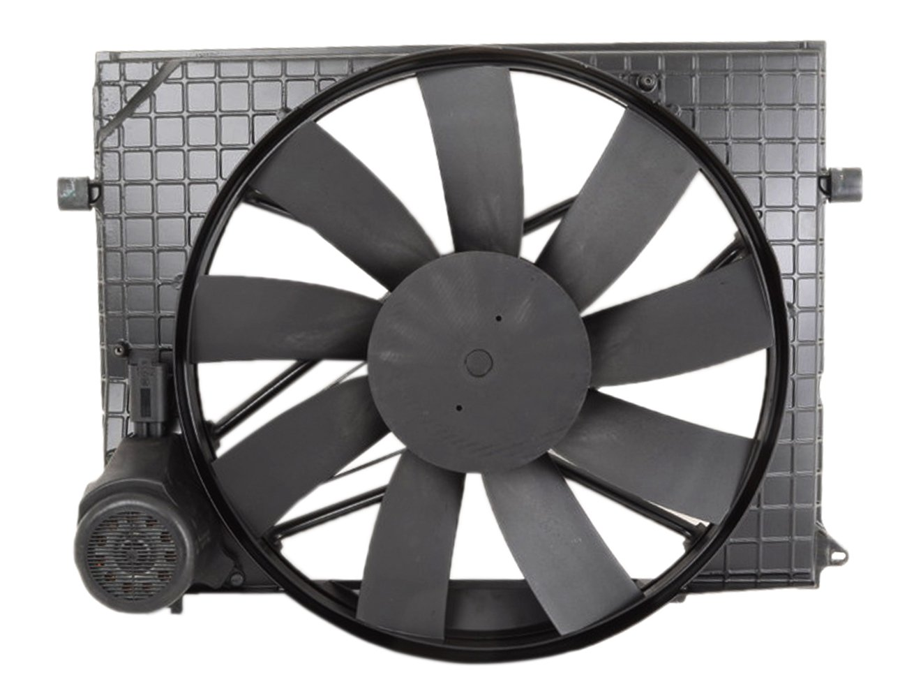 TOPAZ 2205000093 Radiator Cooling Fan Assembly for for Mercedes W220