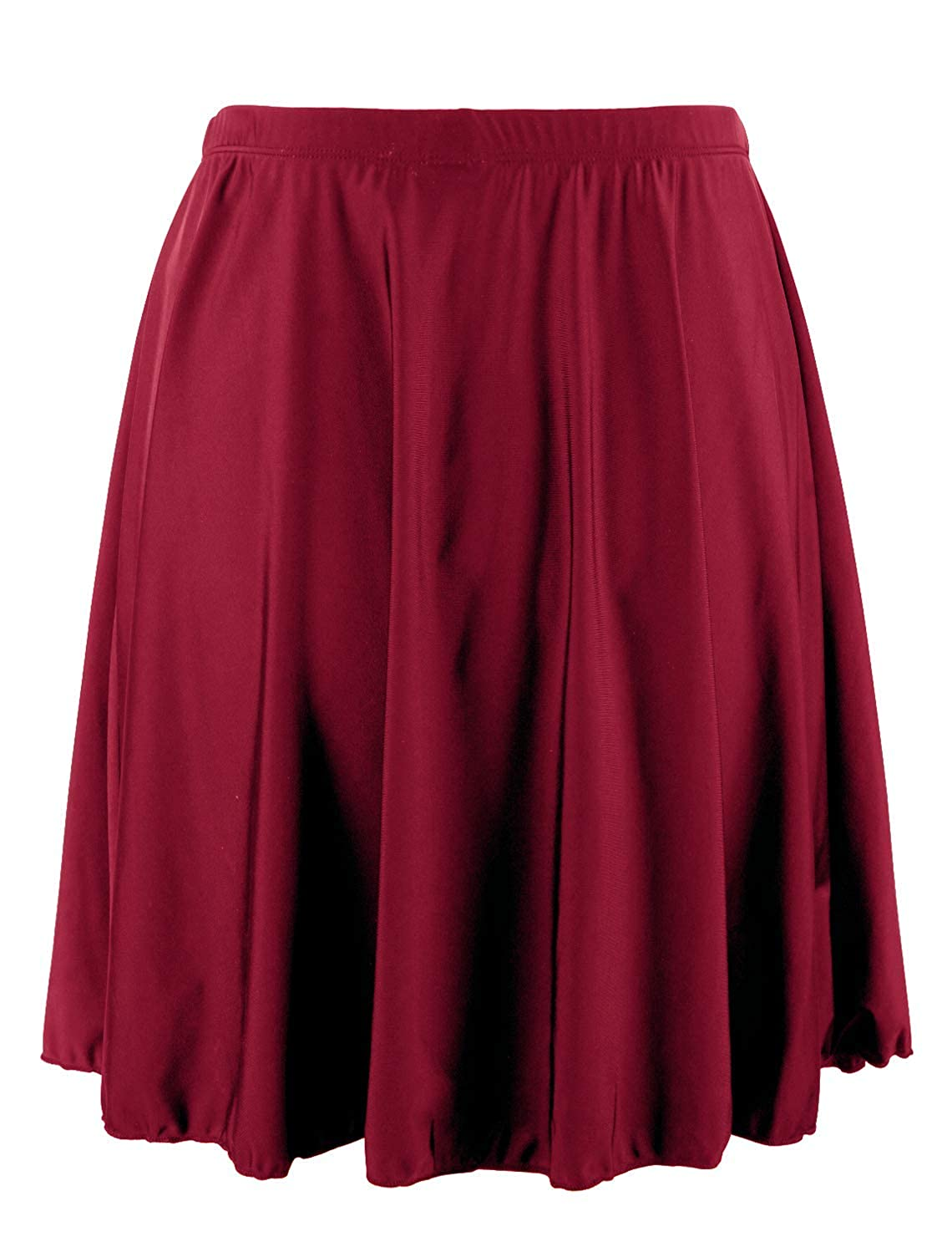 Mycoco Womens Long Swim Skirt UV 50 High Waist Swim Bottom Multi-Purpose Athletic Sports Tankini Bottom