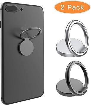 BellFan - 2 soportes para teléfono móvil, anillo de dedo ...