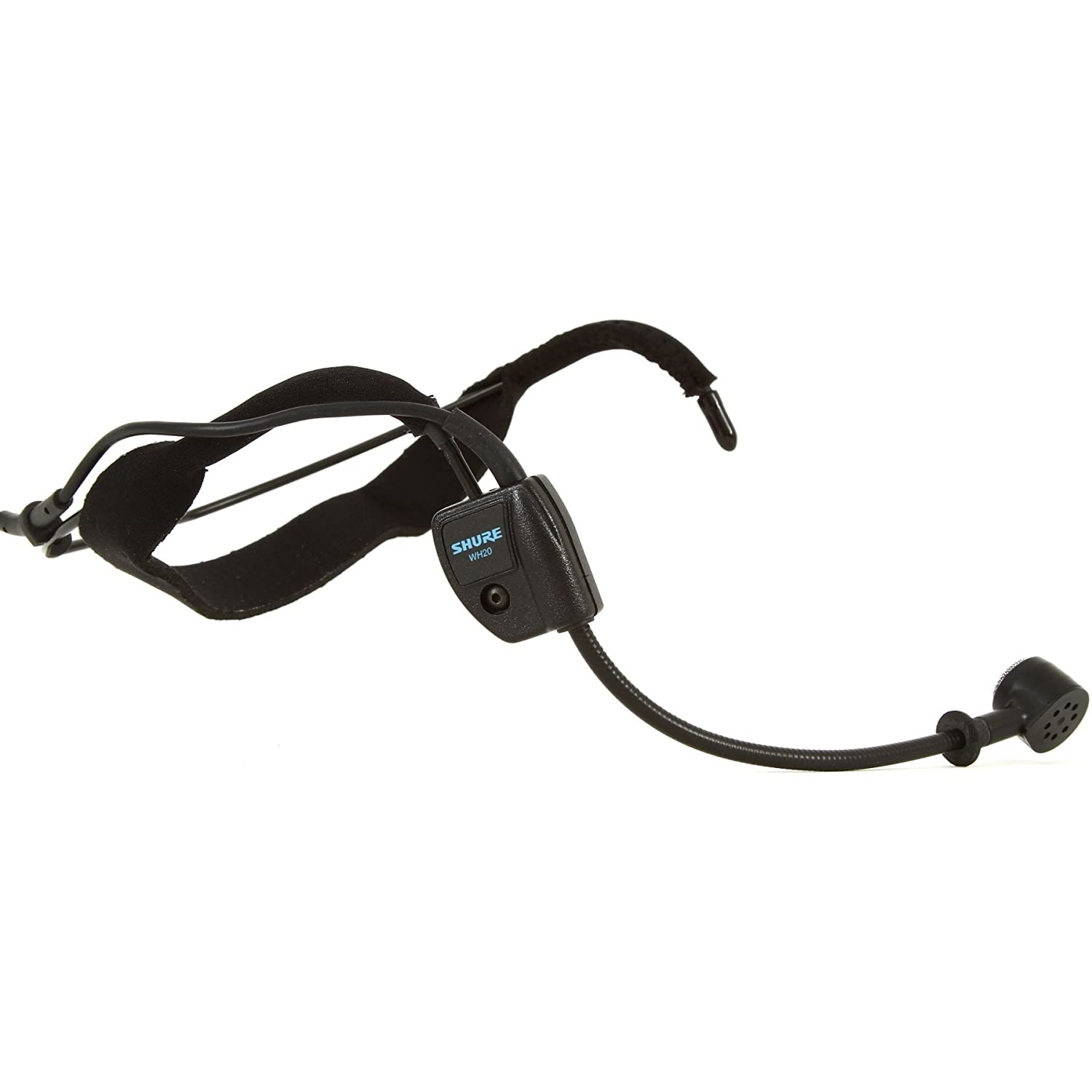 Shure Wh20qtr Dynamic Headset Microphone Includes Trs Headphone Cable Wiring Diagram Free Image About Right Angle 1 4 Phone Plug For Unbalanced Mic Input Musical Instruments