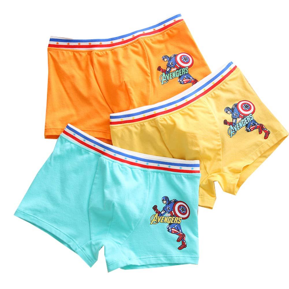Baby Boys Boxer Briefs Kid Boy Underwear Panties Soft Cotton Boxer Shorts 4 Pack 2-8t