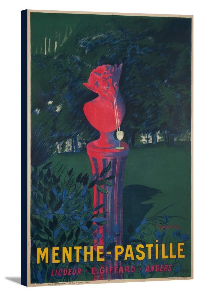 La Menthe – Pastilleヴィンテージポスター(アーティスト: Leonetto CappielloフランスC。1906年 23 x 36 Gallery Canvas LANT-3P-SC-60241-24x36 B0184B5DYE  23 x 36 Gallery Canvas