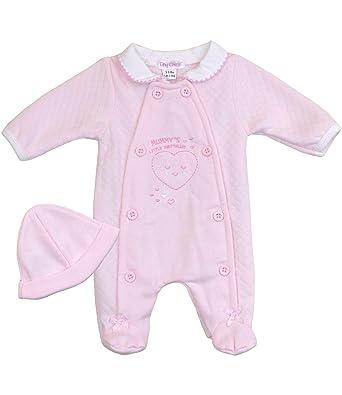 d41989373 Babyprem Premature Baby Girl s Sleepsuit   Hat Mummy s Little ...