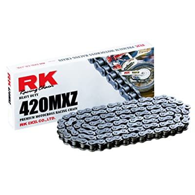 RK Racing Chain 420MXZ-86 86-Links MX Chain with Connecting Link: Automotive [5Bkhe0914431]