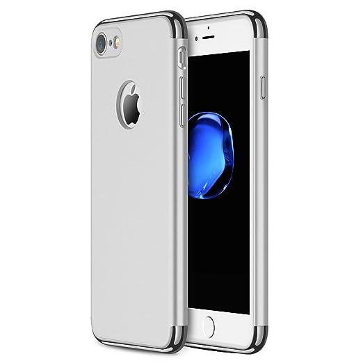 22 opinioni per Custodia per iPhone 7, RANVOO in 3 parti in stile extra sottile e rigida cover