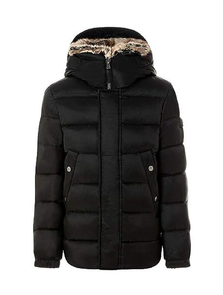 Peuterey Piumino Bimbo DUTEL Fur Kid PKK1504 01181447 Nero con Pelliccia  fw18 L  Amazon.it  Abbigliamento fc2e6cf0bbc