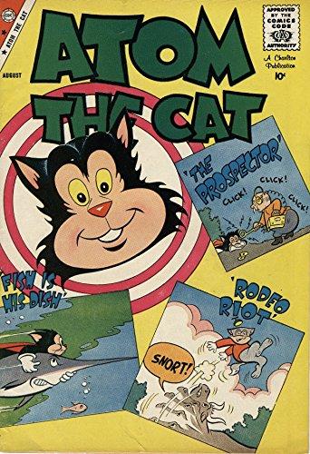 Amazon com: Atom the Cat v1 #17 eBook: Charlton Comics