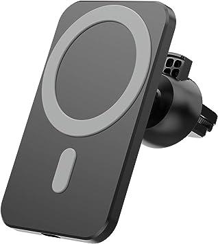 15whalterung Für Magnetische Kabellose Autoladegeräte Für Iphone 12 Pro Max Mini Magsafe Handyhalterung Mit Schnellluftventilierung Baumarkt