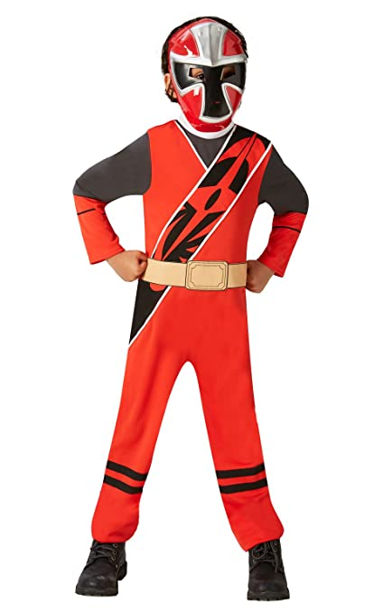 Rubies I-640071S - Disfraz de Power Rangers, niño, talla M
