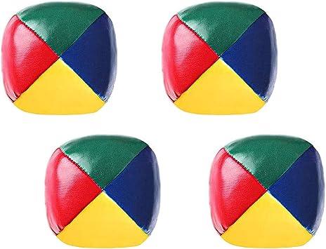 Bolas De Malabares 4 Unidades Juego De Payaso De Circo Bola De Juguete De Poliuretano Multicolor Sports Outdoors