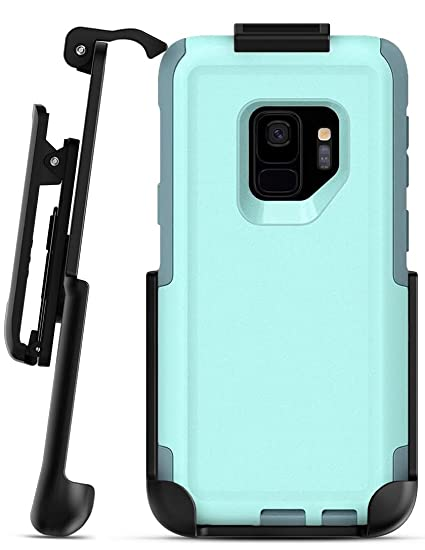 competitive price 9bff0 09e73 Belt Clip Holster for Otterbox Commuter Case - Galaxy S9 (Encased) Secure  Fit Rotating Holster (case not included)