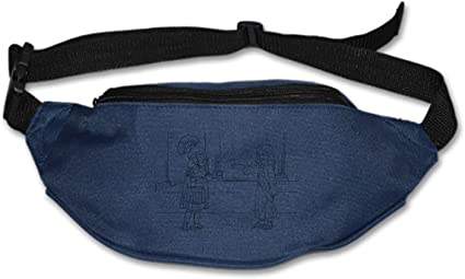 Funny Mouse Sport Waist Pack Fanny Pack Adjustable For Hike