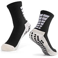 Festnight Calcetines de fútbol Antideslizantes para Hombres Deportes