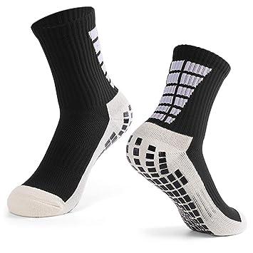 pulcro diseño de moda ofertas exclusivas Explopur Calcetines Antideslizantes de fútbol para Hombre Calcetines  Deportivos de Tubo Alto de fútbol