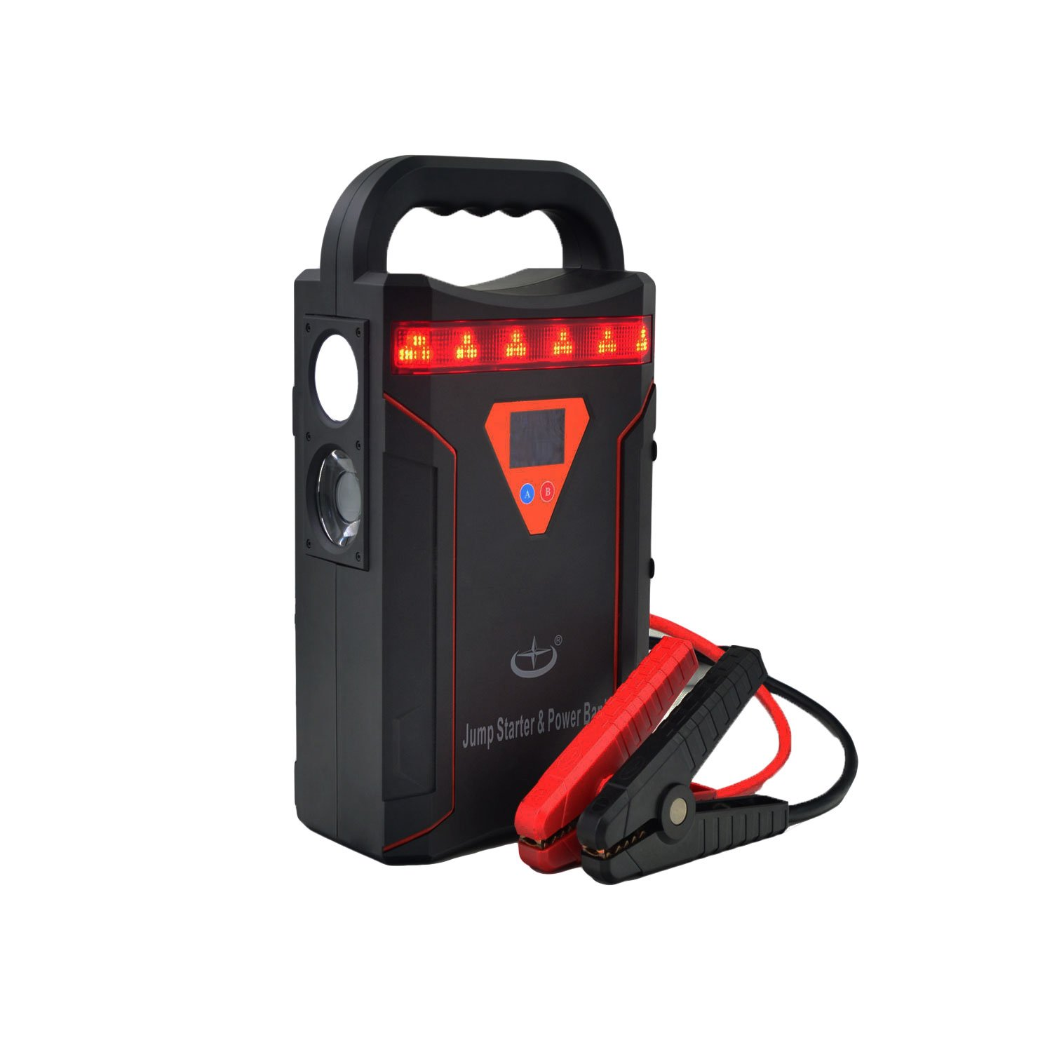 Xinkehua Tf 0998 24v Compact Car Jump Starter Booster Short Circuit Protection 12v Truck And Portable Charger Power Bank With 1200a Peak Current 64000mah Capacity 10a