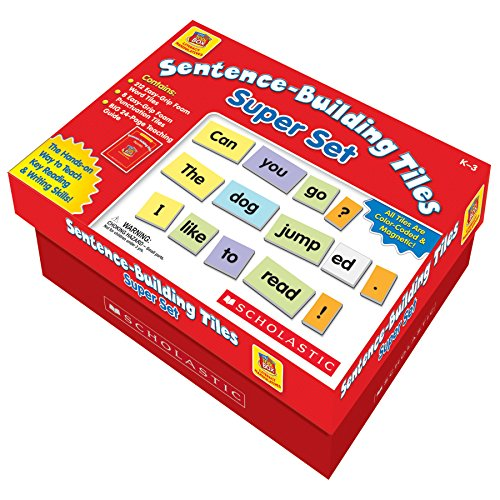 Little Red Tool Box - Little Red Tool Box Sentence-Building Tiles Super Set, SC990927