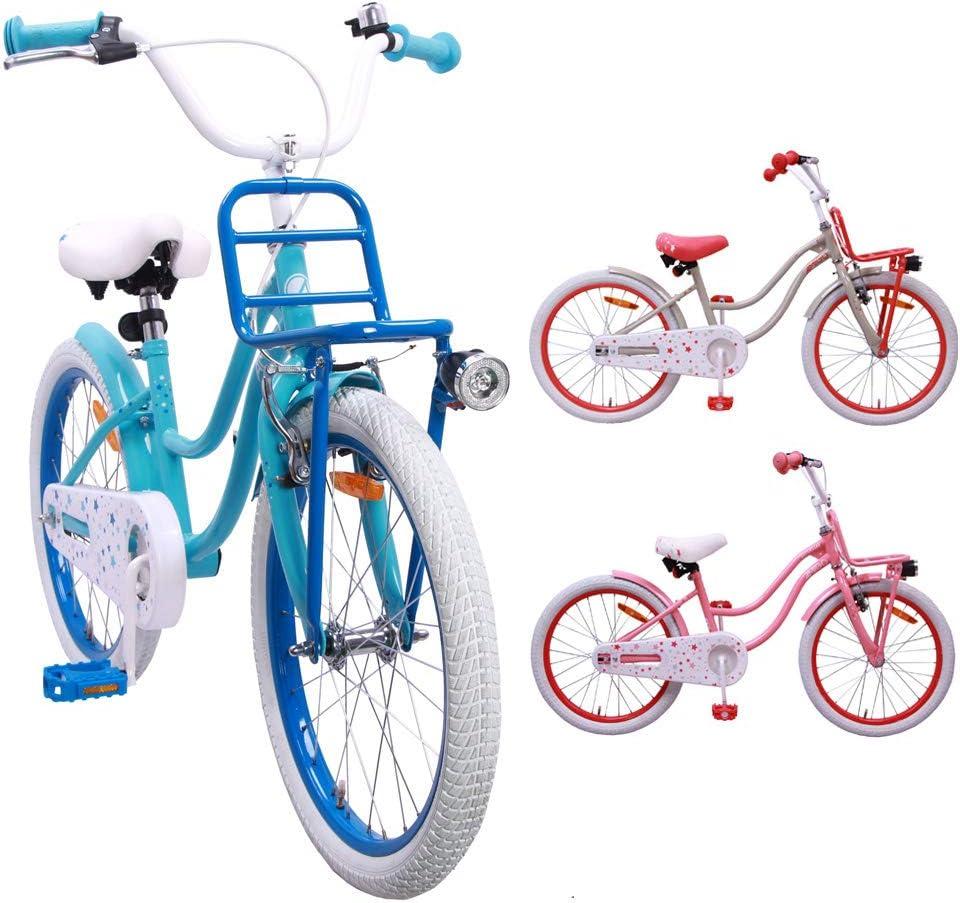 AMIGO Superstar - Bicicleta Infantil (50,8 cm), diseño de Chicas ...