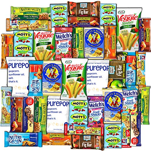 Canopy - Healthy Snacks Care Package (40 Count)