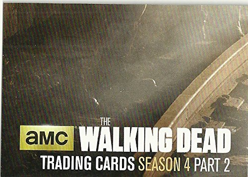 2 Chase Card (The Walking Dead Season 4 Part 2 Trading cards 72 Card Set & 3 Chase Sets)