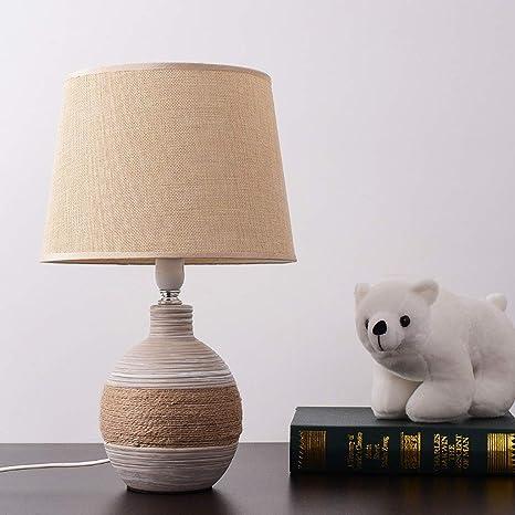 CWJ Lámpara de Mesa, lámpara de Escritorio del hogar, Dormitorio ...