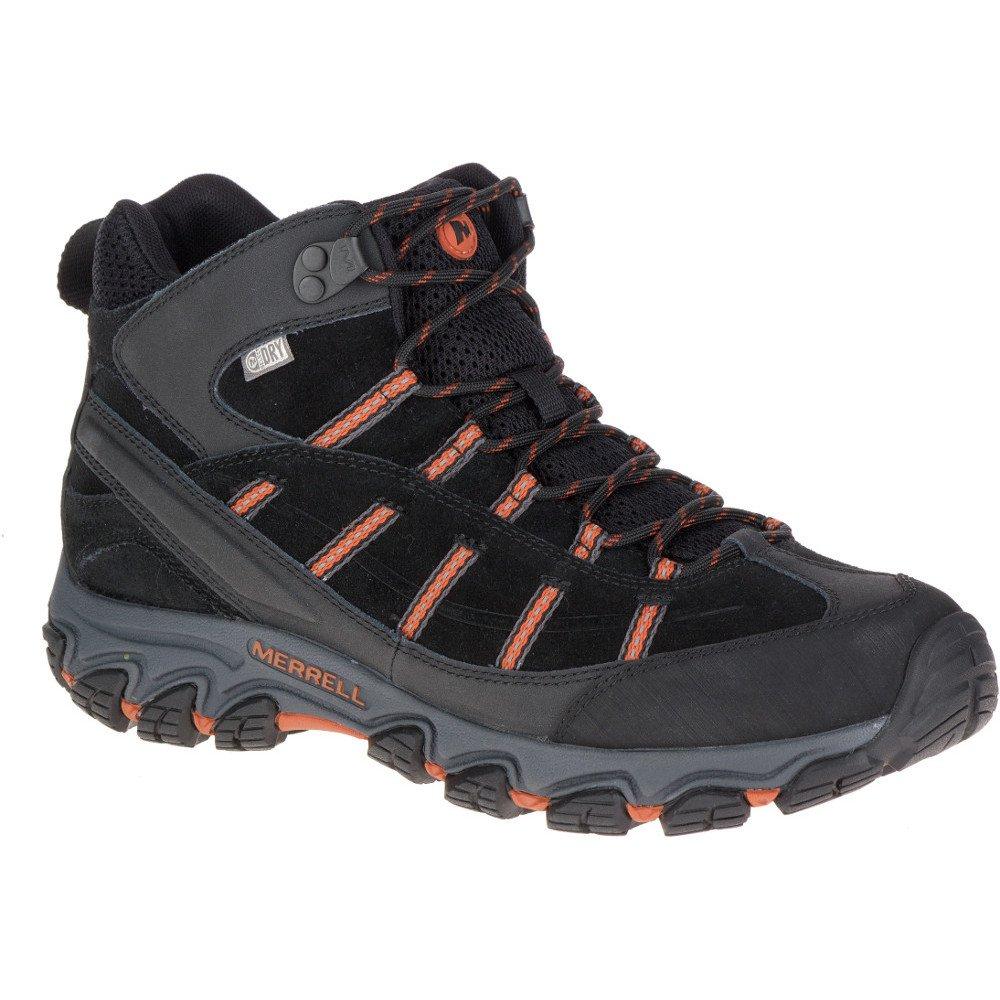 Merrell Herren Terramorph Mid Waterproof Trekking-Wanderstiefel  UK Size 9 (EU 43.5, US 9.5)|Black