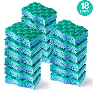 O-Cedar Multi-Use Scrunge Scrub Sponge (Pack of 18)
