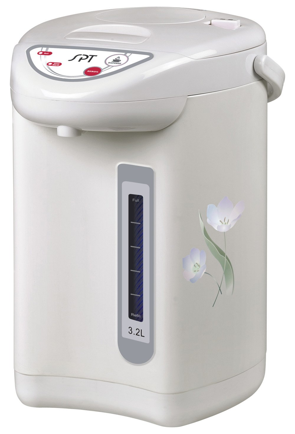 SPT SP-3201 Hot Water Dispenser with Dual-Pump System (3.2L), 10.2 x 10.2 x 13.4 Inch, Off Off White