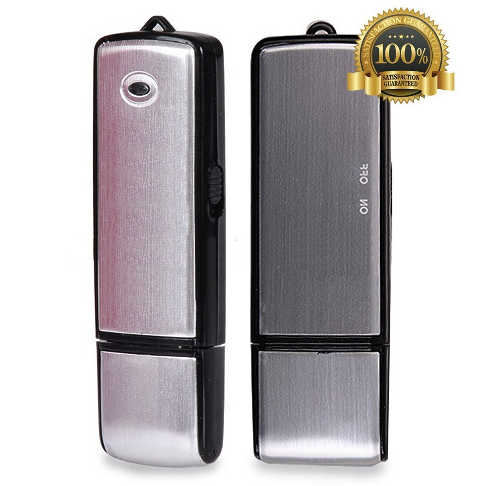 8GB HIDDEN SPY USB DIGITAL VOICE RECORDER IN REAL WORKING PEN /& 5hr BATTERY LIFE