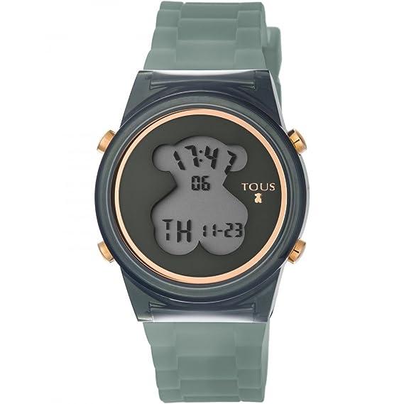 Reloj Tous D-Bear Fresh Negro Mujer Digital 800350685: Amazon.es: Relojes