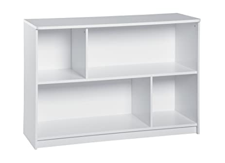 ClosetMaid 1498 KidSpace 2 Tier Bookcase, White