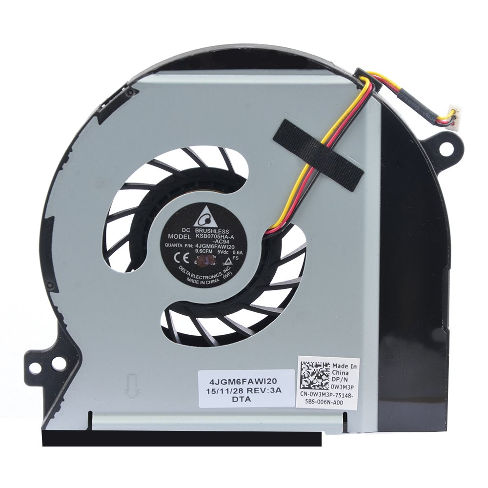 Cooler Para Dell Xps 15 L501x L502x Dv5v W3m3p Series