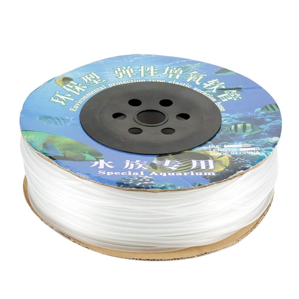 100M Aquarium Fish Tank Air Pump PVC Air Line Tubing